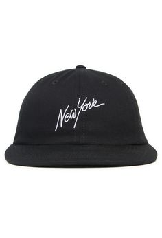 b56a89b83f7 Color   Black 65% Cotton 35% Polyester unstructured 6-Panel Low Profile Cap