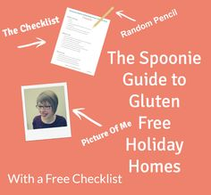 I'm sharing my tips and tricks for going on a #glutenfree holiday while renting a holiday home over at @spoonshares, comes with a free checklist to make things easier :)