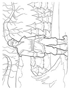 Frozen Coloring Pages 3
