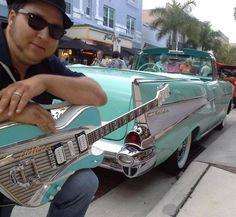 Chevy Bel-Air  #ChevyBelAir  #Chevy  #BelAir  #SouthBeach  #Guitars  #Kamisco