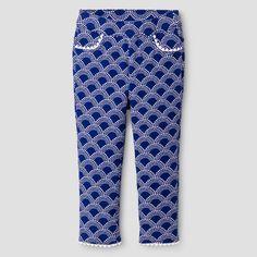 Toddler Girls' Fashion Pant Genuine Kids from OshKosh Blue Diamond 3T