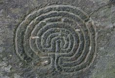 """""""It is hard to date petroglyphs, for obvious reasons. This for example, from Cornwall, has been variously assigned to the Neolithic and the eighteenth century, but is most probably from the latter given its state of preservation and its proximity to a set of tin miners' huts of around that date."""""""