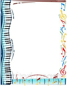 Musical instruments and musical notes frame, Texture Border, Creative, Musical Instruments PNG and PSD Music Border, Piano Recital, Music Worksheets, Music Crafts, Music Clips, Piano Teaching, Music Activities, Elementary Music, Music Therapy