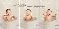 how to clean up a baby after a cake smash photo shoot, happy 1 year old, Anne Wilmus Photography first birthday photo shoot