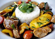 Simple Stir Fried Pork And Veggies