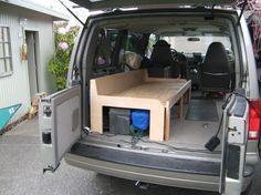 Chevrolet Astro Camper Interior Conversion Surf Day Van