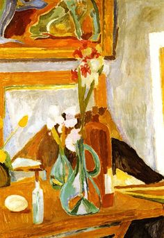 Flowers in the Studio / Vanessa Bell - 1915