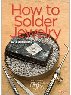How to Solder Jewelry: Lexi Erickson's Memories of Learning to Solder and Her New Soldering eBook Lexi's New Soldering eBook and Frank Talk on Learning to Solder – Jewelry Making Daily – Jewelry Making Daily Soldering Jewelry, Wire Jewelry, Jewelry Crafts, Beaded Jewelry, Jewelery, Handmade Jewelry, Jewelry Ideas, Jewelry Holder, Jewelry Trends