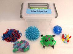 Relax Fidget Box Sensory Fidgets To Busy The Hands By FidgetClub 3999