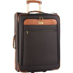 Tommy-Bahama-Suitcase-Luggage-Brown-25-Inch-Expandable-Rolling-Case-Travel-Bag
