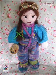 Ravelry: Tia the Artist pattern by MagdaLaine
