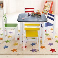 Baa-baa Blackboard Toddler Table - Playtables & Kids' Tables - Children's Furniture