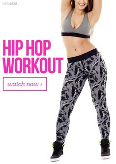 Cardio hip hop workout