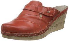 Manitu 900474, Damen Pantoletten, Rot (rot), 37 EU - http://on-line-kaufen.de/manitu/37-eu-manitu-900474-damen-pantoletten-2