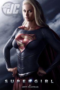 Bad ass #Supergirl art on Geek Tyrant