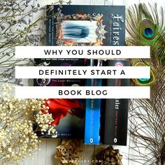 """Book discussion - Why you should start a book blog - If you've ever wondered if book blogging is for you, then I am here to emphatically tell you """"YES IT IS"""". And, because I'm super nice, I'll even give you a list of reasons why you should start a book blog. I KNOW. My generosity knows no bounds."""