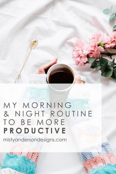 Being productive as a creative #entrepreneur can be hard, especially if you work from home. // Misty Anderson Design << #workfromhome #productivity