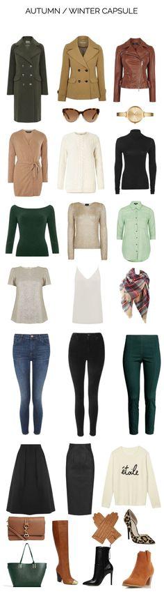 Capsule wardrobe essentials: autumn/winter capsule wardrobe
