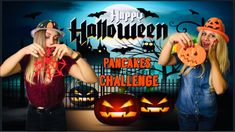 Pancake Art Challenge, Halloween Gif, Lucky Girl, Pancakes, Challenges, Girls, Youtube, Movies, Movie Posters