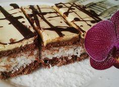 RECOMPENSĂ taie cu sos de gălbenuș Nutella, Sweet Recipes, Tiramisu, Cleopatra, Food And Drink, Baking, Cake, Ethnic Recipes, Coffee