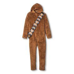 Men's Star Wars Chewbacca Union Suit - Brown XL