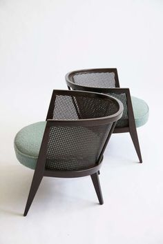 Harvey Probber Lounges | From a unique collection of antique and modern lounge chairs at https://www.1stdibs.com/furniture/seating/lounge-chairs/