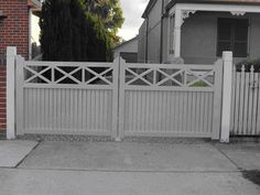 Gate Double Swing Aluminium Heritage