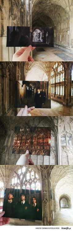 Shots from the film- real life filmsets