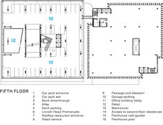 1111 Lincoln Road Parking Space | Herzog and de Meuron | Miami, Florida | Plan  Architectural Record
