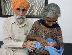 Indiana de 70 anos dá à luz seu primeiro filho