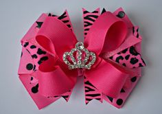 Hey, I found this really awesome Etsy listing at https://www.etsy.com/listing/220167795/pink-zebra-princess-boutique-dog-hair