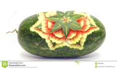 Watermelon Asian Fruit Carving - Download From Over 57 Million High Quality Stock Photos, Images, Vectors. Sign up for FREE today. Image: 38258569