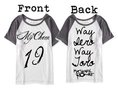 """""""Design a tee/My chemical romance"""" by bandfreakhannah ❤ liked on Polyvore featuring Aéropostale"""