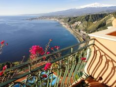 A Room with a View #Taormina #Sicily #Italy just a Magnificent Country