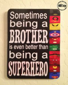 Brother  Superhero