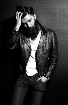 chris john millington - cool hair and beard
