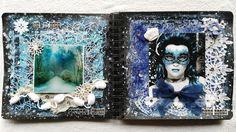 "B-arte : MI ART JOURNAL ""BLANCANIEVES"" DT INVITADA EN LA CA..."