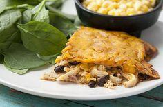 Recipe: Skinny Chicken Enchilada Casserole
