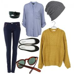 Slouchy and cute.