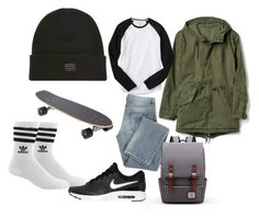"""""""men 03"""" by hermanrizek on Polyvore featuring Gap, Givenchy, NIKE, Billabong, adidas, men's fashion and menswear"""
