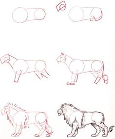 Drawing Techniques How To Draw Easy Animals Step By Step Image Guide - How To.- Drawing Techniques How To Draw Easy Animals Step By Step Image Guide - How To. Drawing Lessons, Drawing Techniques, Drawing Tips, Art Lessons, Painting & Drawing, Drawing Ideas, Learn Drawing, Body Painting, 3d Drawings
