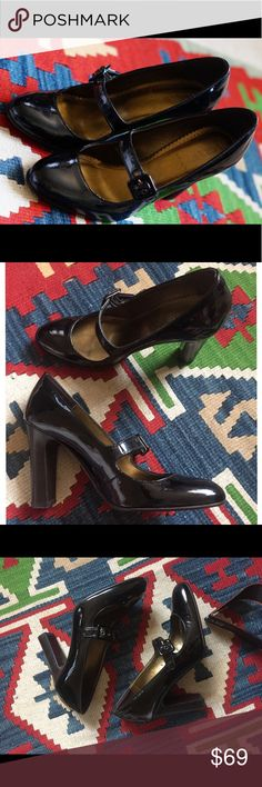 J. Crew black patent heels 👠 Sophisticated and professional! These jcrew heels speak for themselves and have obviously never been worn outside. The soles are spotless. Make an offer below! J. Crew Shoes Heels