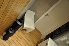 Japanese feel bathroom using Quik-Step Lagune on floor and wall