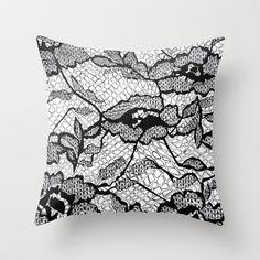 Lace+Throw+Pillow+by+Julia+Emiliani+-+$20.00