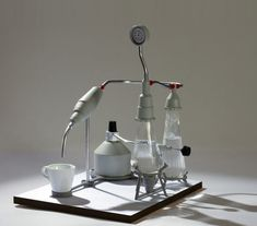 Laboratory espresso machine by David Budzik and Adi Schlesinger, a coffee maker with a scientific aesthetic. Images © David Budzik and Adi Schlesinger According… Machine A Cafe Expresso, Coffe Machine, Espresso Coffee Machine, Espresso Maker, Coffee Cafe, Coffee Shop, Coffee Brewers, Bunsen Burner, Great Coffee