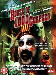 This movie, House of a 1000 Corpses, is by far one of the worst movies I ever watched! It left me with the most horrible visions & thoughts, not even watching a Disney movie could cure!! Just a sick and twisted!! When you hear that scary bastard tell the kids to leave while, they still have lollipops & ponies in their heads, YOU BETTER TURN IT OFF!!