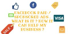 Everything about Facebook paid ads you always wished to know . Facebook Paid Ads, About Facebook, Social Media Marketing Agency, Quotes By Famous People, Advertising, Business, Store, Business Illustration
