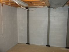 Basement Studio, Basement Walls, Basement Ideas, Garbage Can Shed, Underground Bunker, Foundation Repair, Decoupage Ideas, Energy Efficient Homes, Country