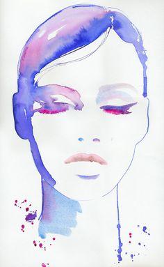 Cool watercolor