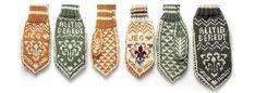 Speiderstrikk - KFUK-KFUM-speiderne Knitted Gloves, Mittens, Knitting, Crochet, Accessories, Diy, Free, Fashion, Sweater Mittens